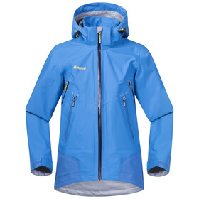 Bergans Youth Ervik Jacket Light Winter Sky/Athens Blue/Navy